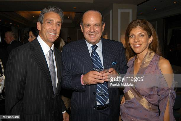 Charles Cohen Maurice Amon and Sandra Shashee attend 40th Anniversary to of The Decoration Design Building Hosted by The Decorators Club and Charles...