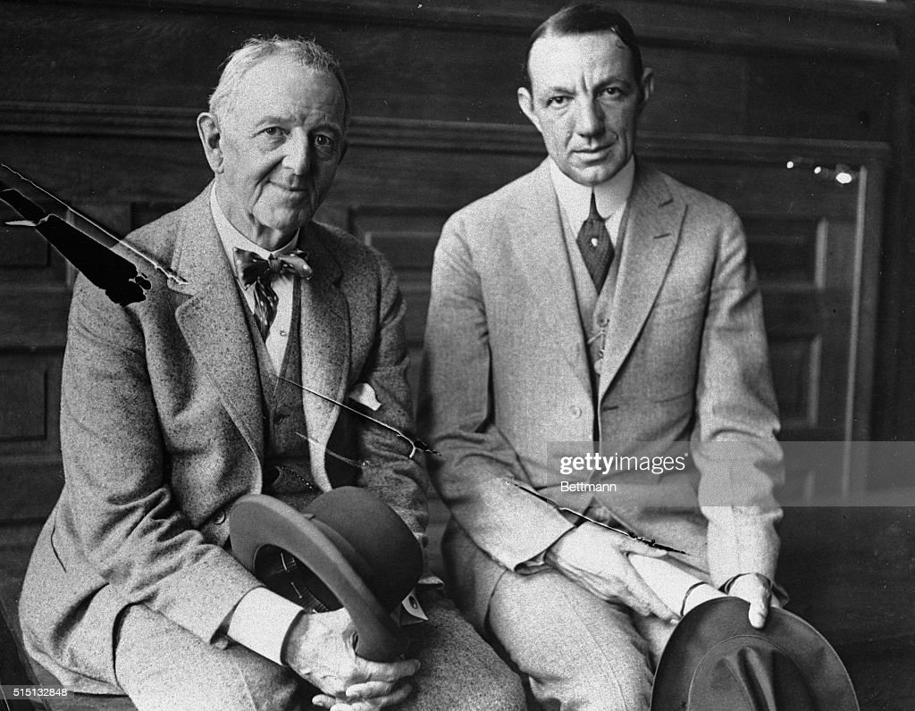 charles comiskey sitting william veeck at black sox scandal charles comiskey owner of the chicago white sox left and william