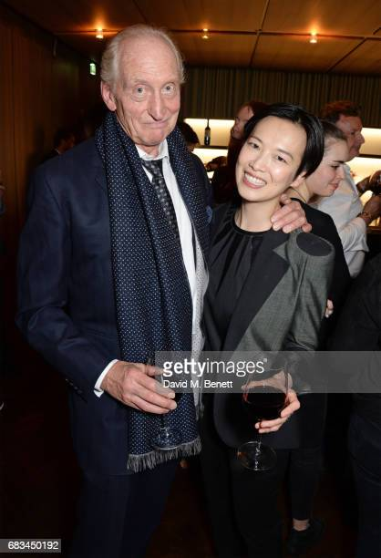 Charles Dance and Rosey Chan attend '8 Years Of My Life' an intimate evening of music with Rosey Chan hosted by Rosey Chan and Client Earth at Cafe...