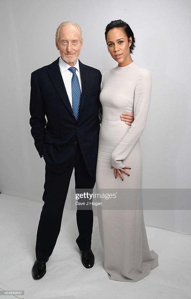 Charles Dance and Zawe Ashton attend the Moet British Independent Film Awards 2013 at Old Billingsgate Market on December 8, 2013 in London, England.