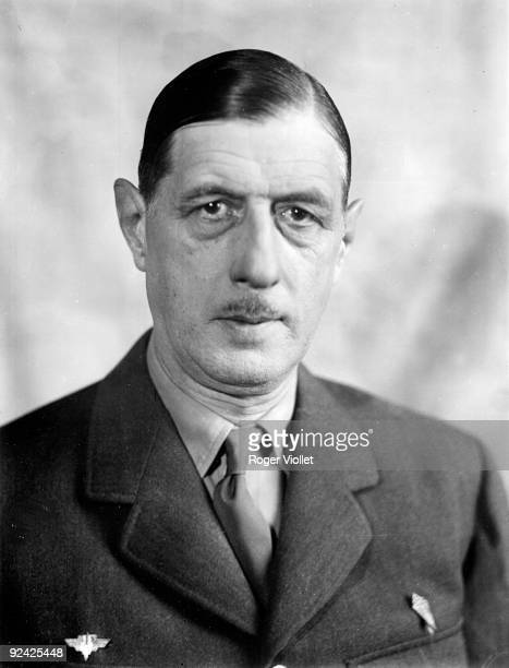 Charles De Gaulle French General 19441945