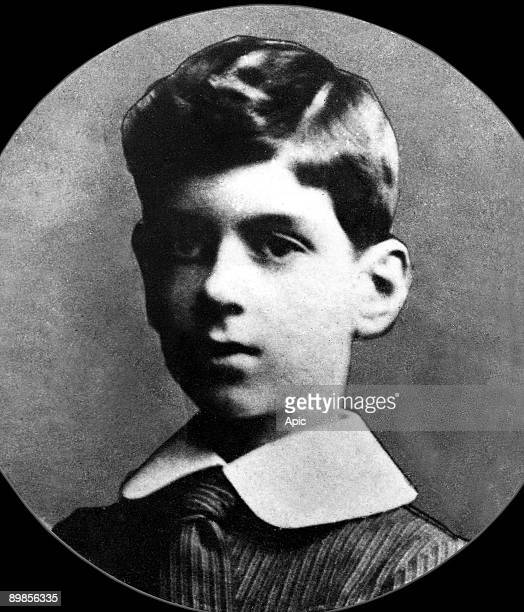 Charles de Gaulle here as a child c 1900