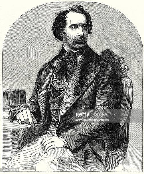 Charles Dickens From A Recent Daguerreotype By Mayall 1 December 1855 Memoir Of Charles Dickens The Lives Of Men Of Genius When Happy Are Ordinarily...