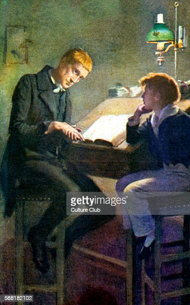 david copperfield book stock photos and pictures getty images charles dickens s novel david copperfield scene illustration david copperfield and uriah heep english novelist