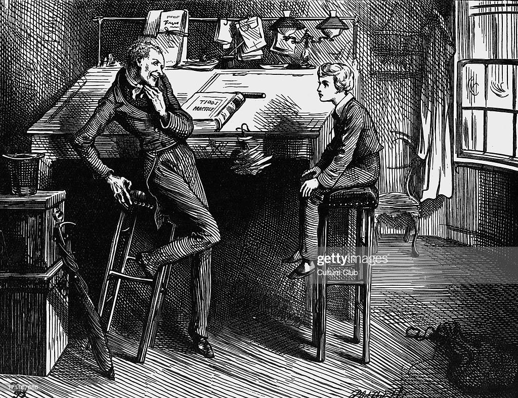 charles dickens s novel david copperfield pictures getty images charles dickens s novel david copperfield david copperfield and uriah heep drawn