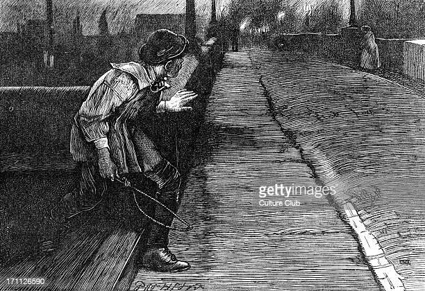 Charles Dickens's ' The Adventures of Oliver Twist ' first published 1838 Caption ' When she was about the same distance in advance as she had been...