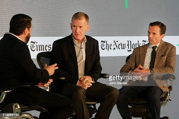 Charles Duhigg The New York Times Senior Editor retired General Stanley A McChrystal McChrystal Group LLC partner and Chris Fussell Chief Growth...