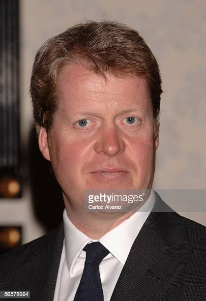 Charles Earl Spencer presents his new Althorp Living History furniture collection at Theodore Alexander on January 12 2006 in Madrid Spain Theodore...