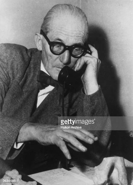 Charles Edouard Jeanneret Swiss born French architect known as Le Corbusier