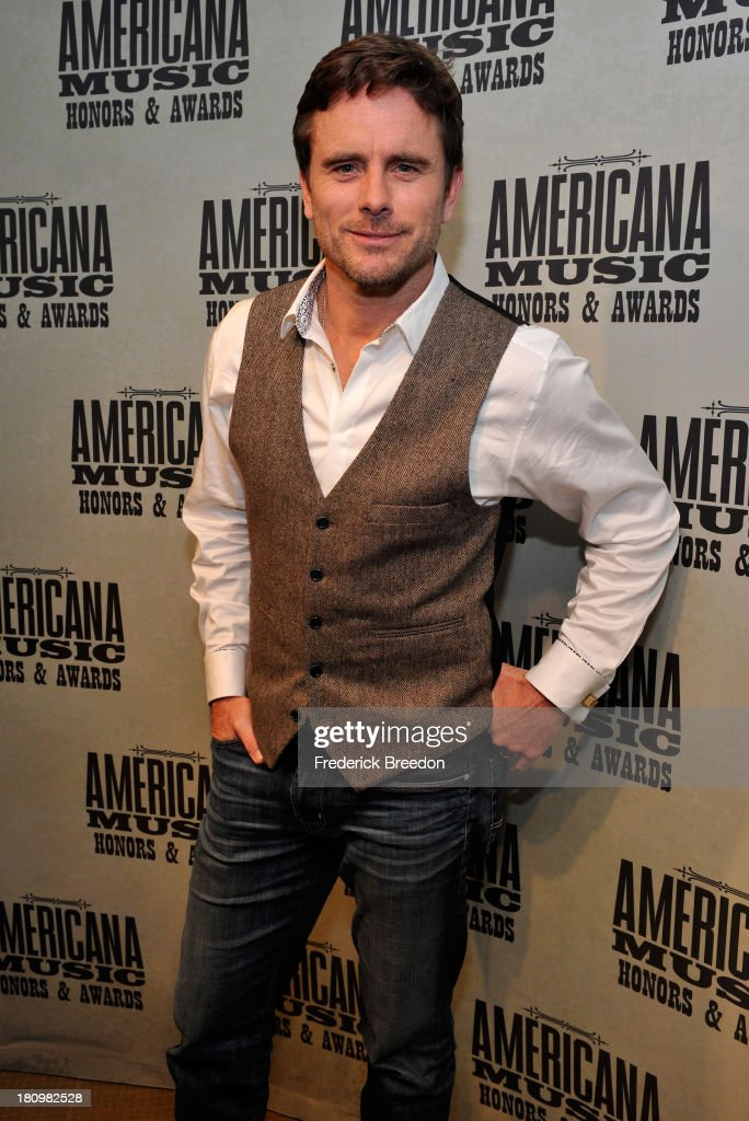 Charles Esten backstage at the 12th Annual Americana Music Honors And Awards Ceremony Presented By Nissan on September 18, 2013 in Nashville, Tennessee.