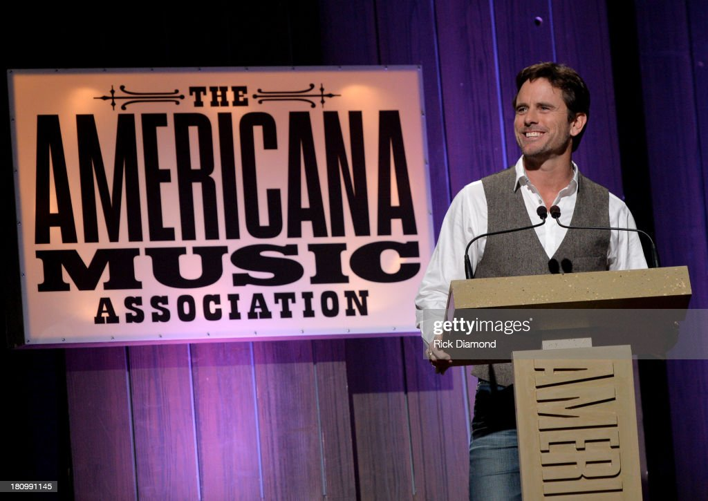 Charles Esten introduces The Stellas at the 12th Annual Americana Music Honors And Awards Ceremony Presented By Nissan on September 18, 2013 in Nashville, Tennessee.