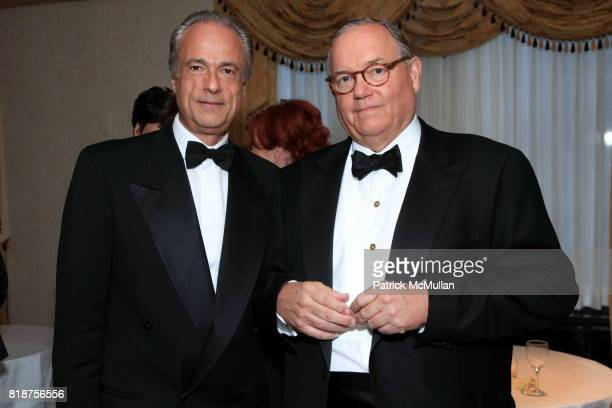 Charles Fabius and RJ Brandes attend Carnegie Hall Medal of Excellence Gala Honoring HENRY T SEGERSTROM at WaldorfAstoria on June 7 2010 in New York
