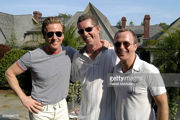 Charles Fagan Peter Wilson and Scott Sanders attend School's Out 2008 benefiting The HetrickMartin Institute home of the Harvey Milk High School at...