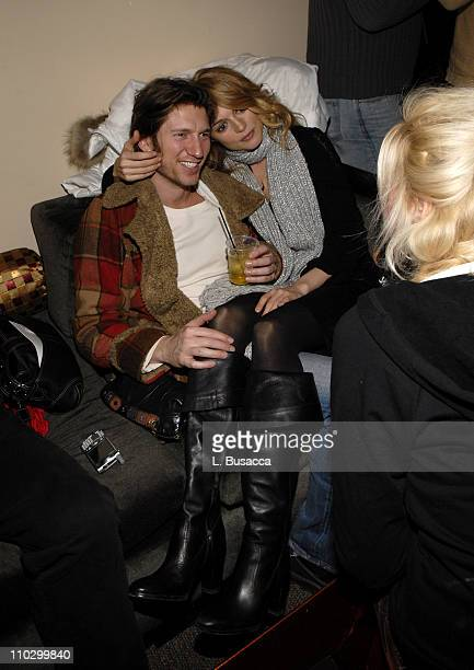 Charles Ferri and Heather Graham during 2007 Park City 'Adrift in Manhattan' After Party at Lotus in Park City Utah United States