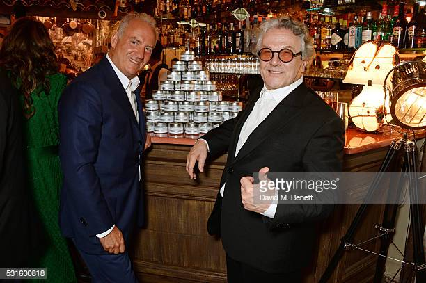 Charles Finch and George Miller attend a starstudded dinner hosted by DEAN DELUCA Harvey Weinstein Charles Finch to celebrate Robert De Niro in his...