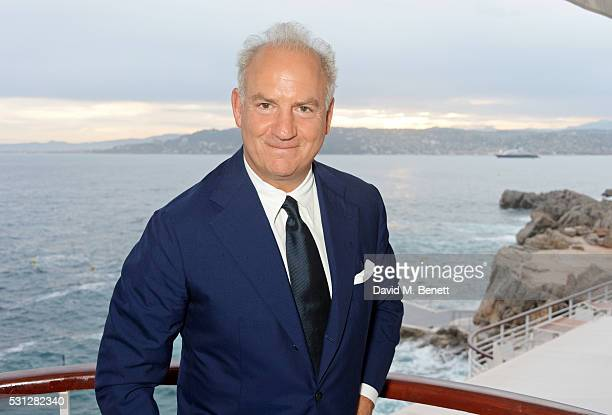 Charles Finch attends The 8th Annual Filmmakers Dinner hosted by Charles Finch and JaegerLeCoultre at Hotel du CapEden Roc on May 13 2016 in London...
