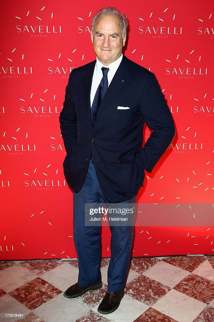 Charles Finch attends the Founder And CEO Alessandro Savelli And Contemporary Style Icon Julia Restoin Roitfeld Launch SAVELLI The World's First Luxury Smart Phone Especially For Women During Haute Couture Week at Musee Jacquemart-Andre on July 3, 2013 in Paris, France.