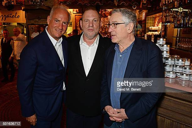 Charles Finch Harvey Weinstein and Robert De Niro attend a starstudded dinner hosted by DEAN DELUCA Harvey Weinstein Charles Finch to celebrate...