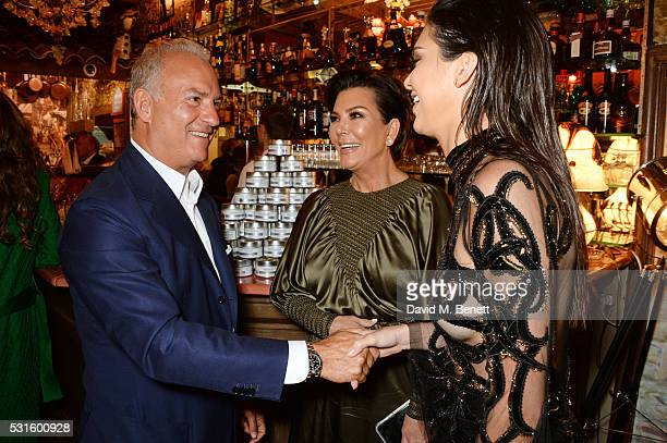 Charles Finch Kris Jenner and Kendall Jenner attend a starstudded dinner hosted by DEAN DELUCA Harvey Weinstein Charles Finch to celebrate Robert De...