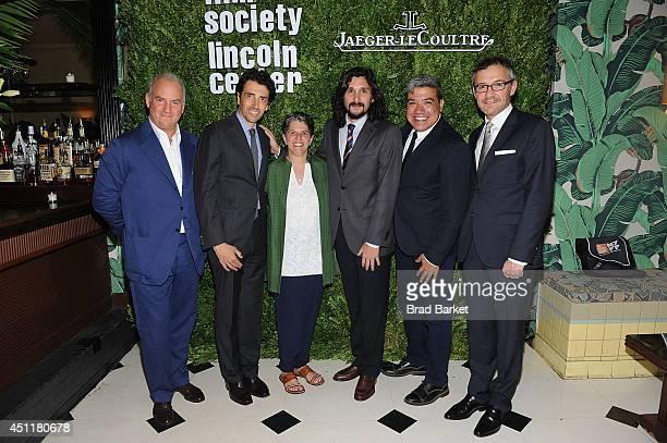 Charles Finch Philippe Bonnet Lesli Klainberg Lisandro Alonso Eugene Hernandez and Laurent Vinay attend the Film Society Of Lincoln Centr 2014...