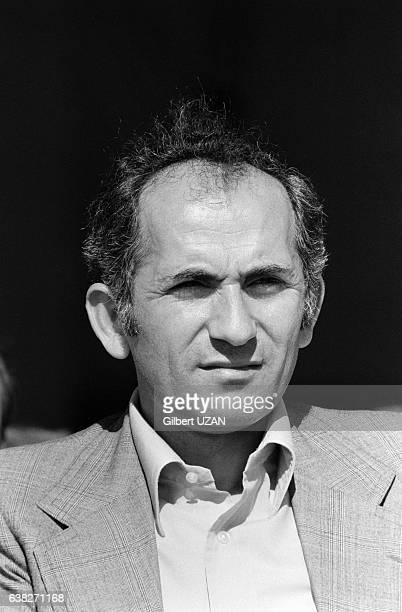 Charles Fiterman à la Fête de l'Humanité à La Courneuve France le 9 septembre 1978