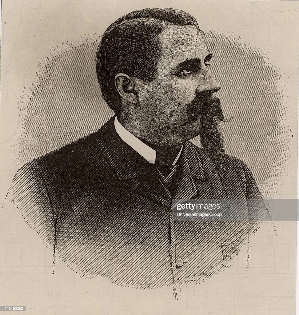 Charles Francis Brush American inventor entrepreneur and philanthropist born at Euclid Township Ohio Inventor of the Brush dynamo Engraving from...