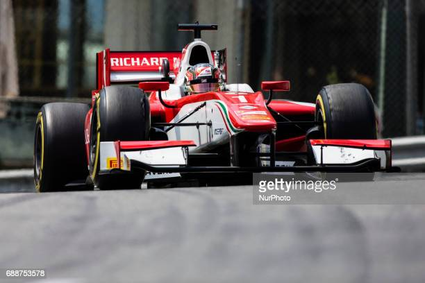 Charles from Monaco of Prema Racing during the Monaco Grand Prix of the FIA Formula 2 championship at Monaco on 26th of May of 2017