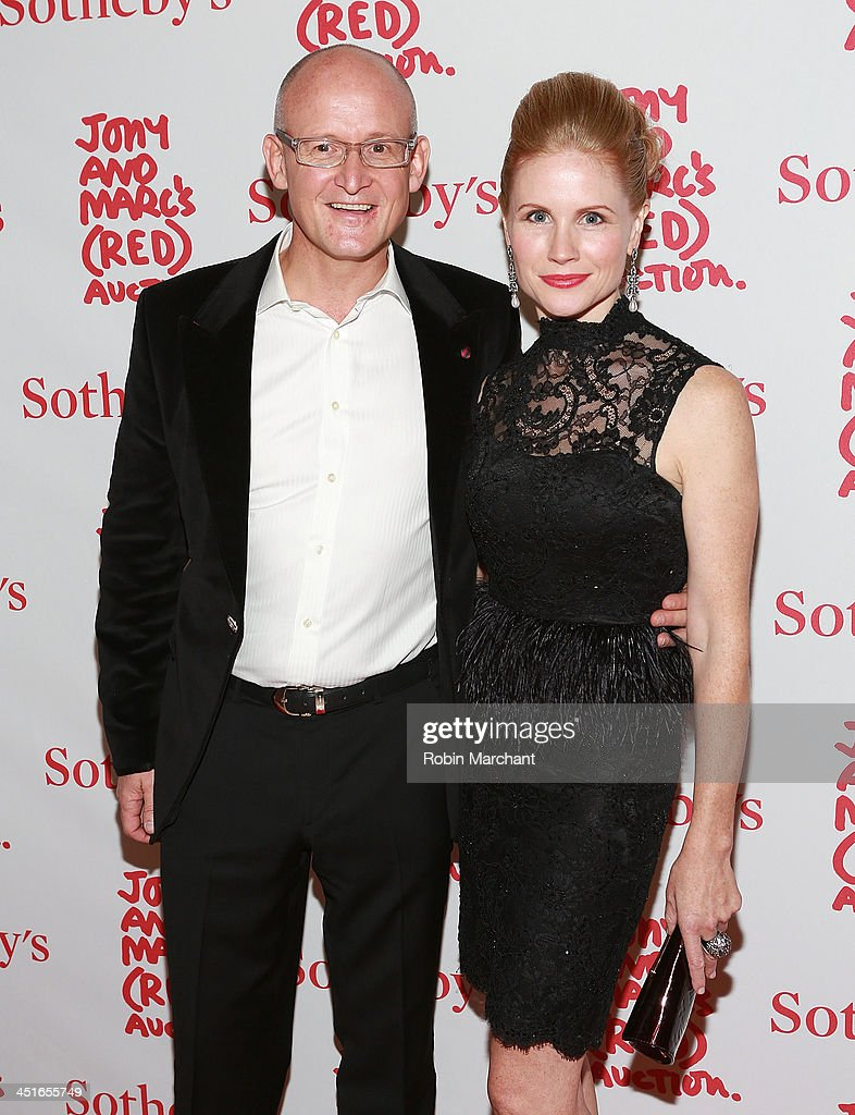 Charles Gibb and Tamara Gibb attends the 2013 (RED) Auction Celebrating Masterworks Of Design and Innovation on November 23, 2013 in New York, United States.