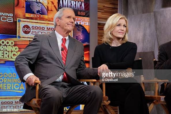 Good Morning America Diane Sawyer : Charles gibson stock photos and pictures getty images