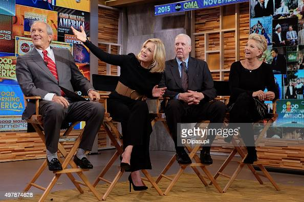 Good Morning America Dave Roe : Charles gibson photos et images de collection getty