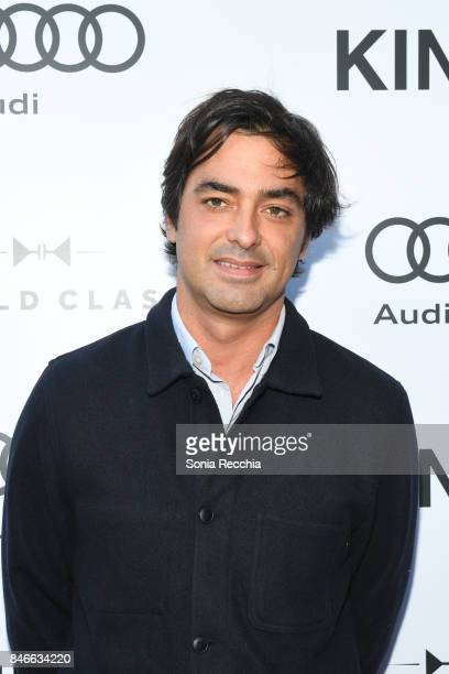 Charles Gillibert attends the prescreening event for 'Kings' hosted by Audi Canada during the Toronto International Film Festival at Bisha Hotel...