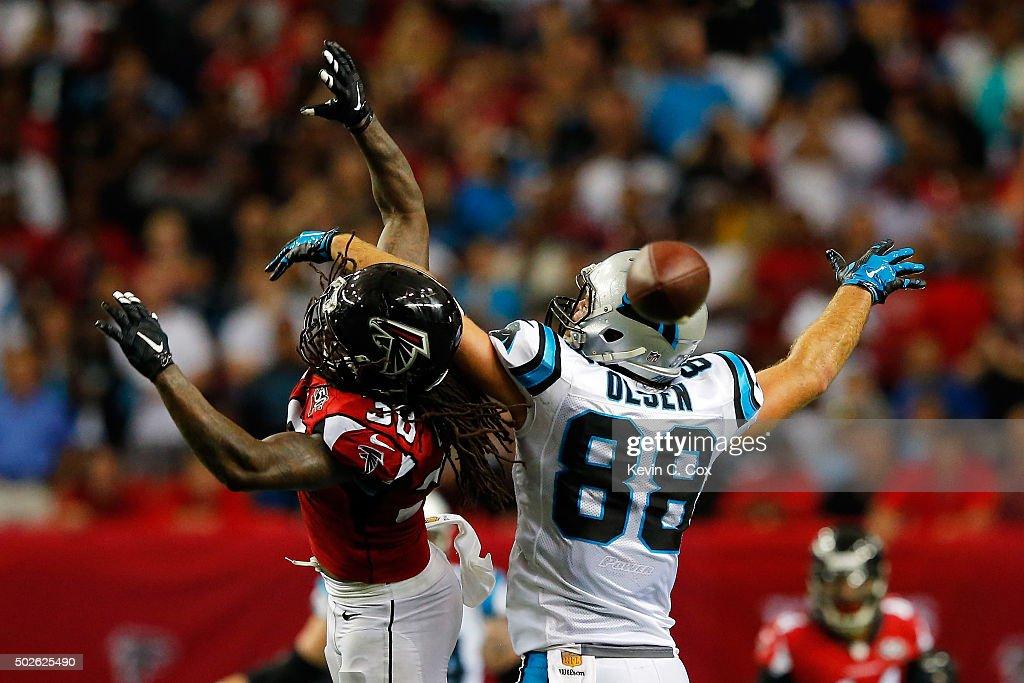 Atlanta Falcons Charles Godfrey GAME Jerseys