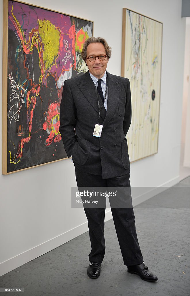 Charles Gordon-Lennox attends the private view for Frieze on October 16, 2013 in London, England.