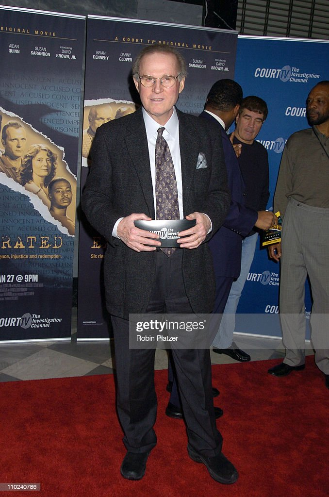 Charles Grodin during Court TV's Original Movie 'The Exonerated' New York City Premiere at Museum of Television and Radio in New York City, New York, United States.