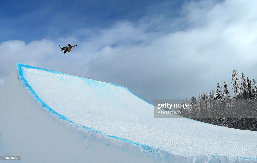 Charles Guldemond competes during finals for the FIS Snowboard Slopestyle World Cup at U.S. Snowboarding and Freeskiing Grand Prix on December 22, 2013 in Copper Mountain, Colorado.