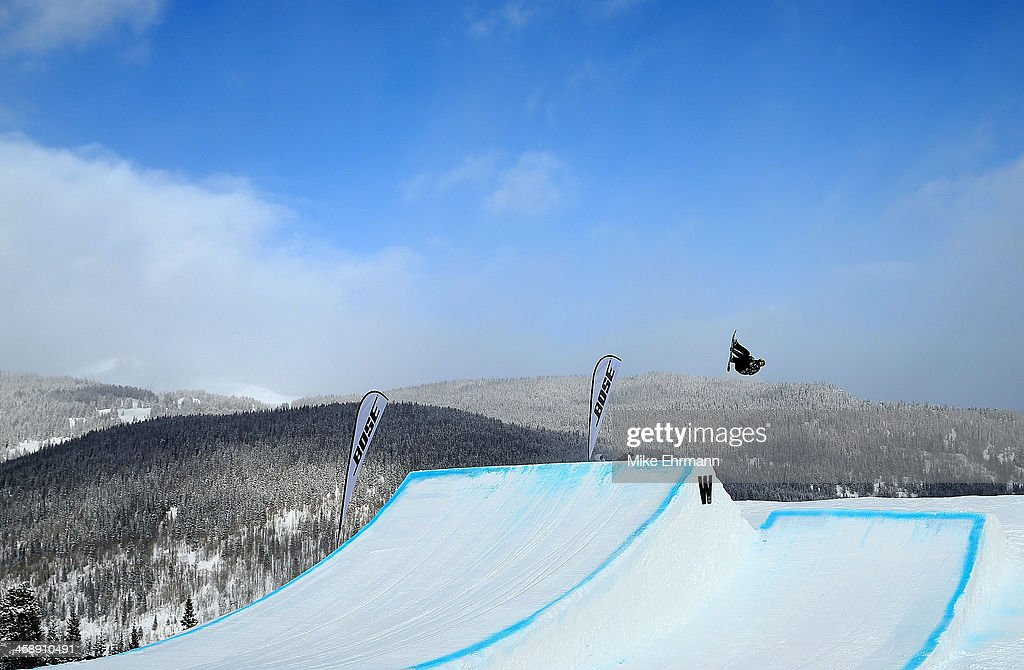 Charles Guldemond competes during finals for the mens FIS Snowboard Slopestyle World Cup at U.S. Snowboarding and Freeskiing Grand Prix on December 22, 2013 in Copper Mountain, Colorado.