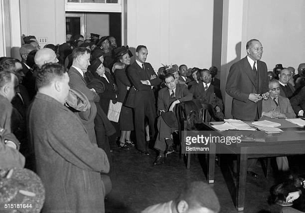 Charles H Houston protests to the Washington DC school board in regards to its decision against allowing African American singer Marian Anderson sing...
