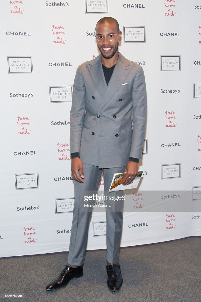 Charles Harbinson attends the 2013 'Take Home A Nude' Benefit Art Auction And Party at Sotheby's on October 8, 2013 in New York City.