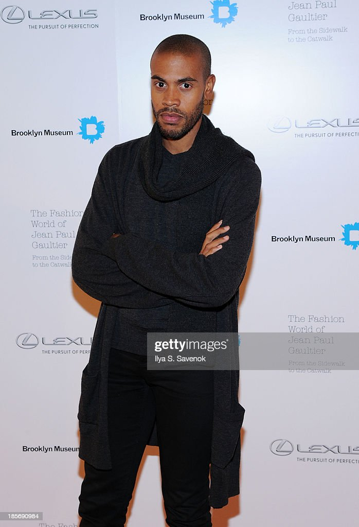 Charles Harbison attends the VIP reception and viewing for The Fashion World of Jean Paul Gaultier: From the Sidewalk to the Catwalk at the Brooklyn Museum on October 23, 2013 in the Brooklyn borough of New York City.