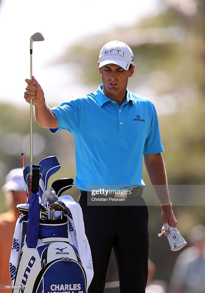 Charles Howell III during the final round of the Sony Open in Hawaii at Waialae Country Club on January 13, 2013 in Honolulu, Hawaii.