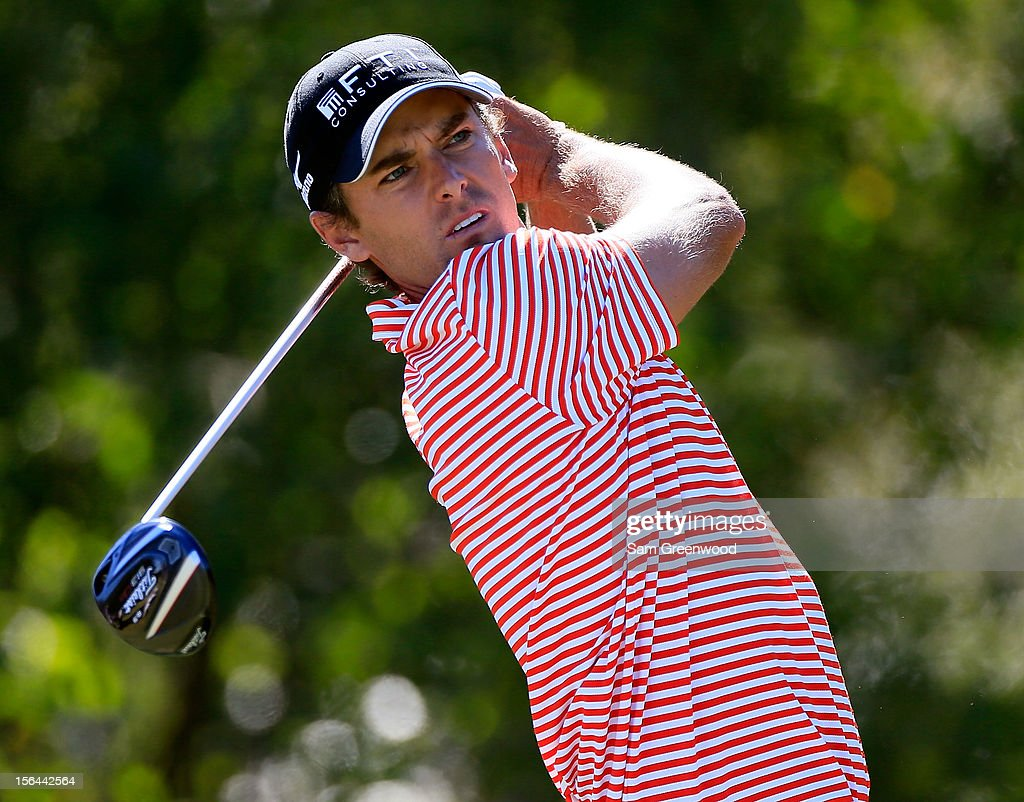 Charles Howell III plays a shot during the third round of the Children's Miracle Network Hospitals Classic at the Disney Magnolia course on November 10, 2012 in Lake Buena Vista, Florida.