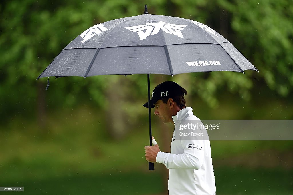 Charles Howell III walks down the 12th fairway during the first round of the Wells Fargo Championship at Quail Hollow on May 5, 2016 in Charlotte, North Carolina.