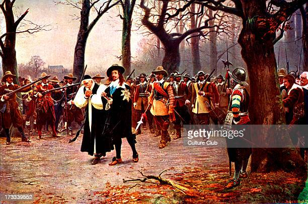 Charles I on his way to be executed 30 January 1649 English Civil War 1642–1651