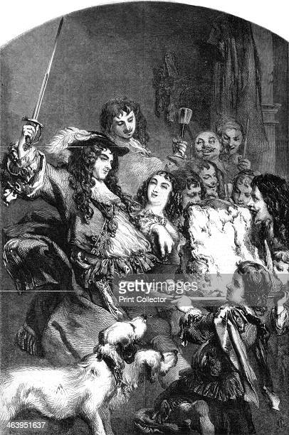 Charles II knighting a loin of beef According to legend an English king Henry VIII James I or Charles II was so fond of beef that he knighted it...