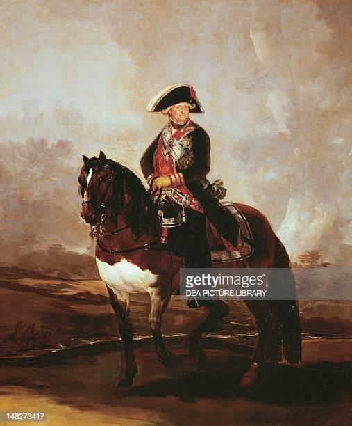 Charles IV on horseback by Francisco de Goya Madrid Museo Del Prado