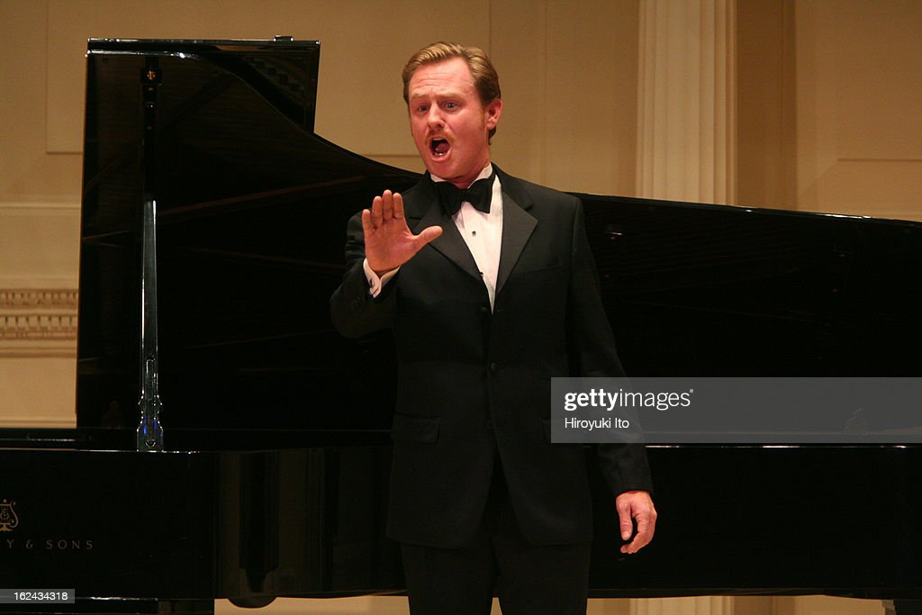 'Charles Ives An Evening of Songs' by graduate students and alumni of Yale University at Weill Recital Hall on Monday night October 29 2007This...