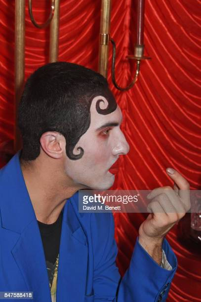 Charles Jeffrey attends Fiorucci The Resurrection LFW Party at L'Escargot on September 15 2017 in London England