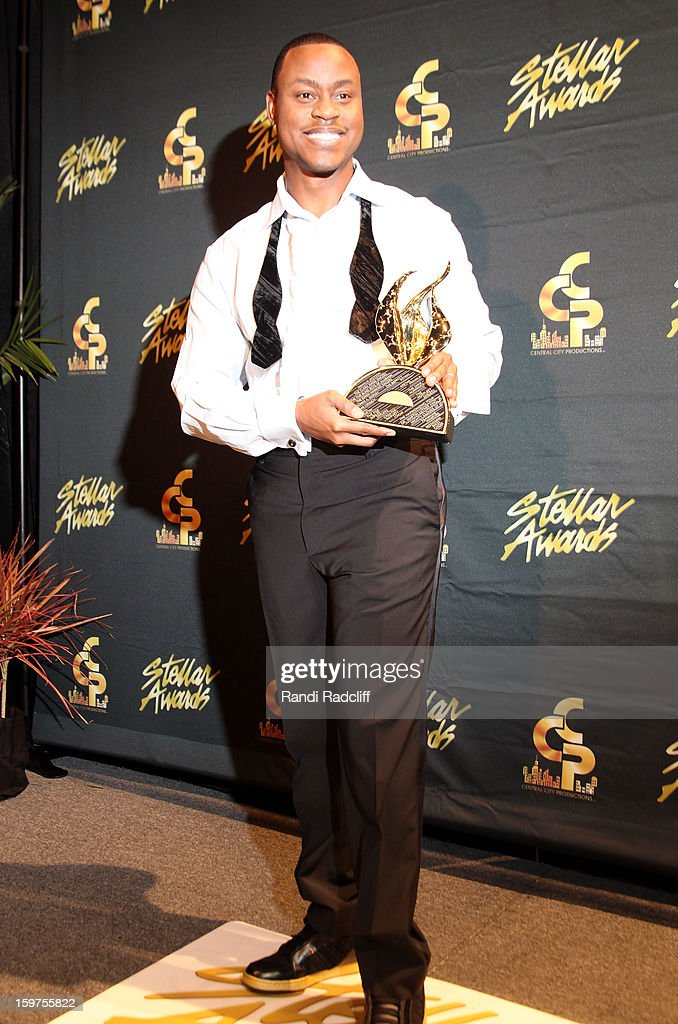 Charles Jenkins attends the 28th Annual Stellar Awards Press Room at Grand Ole Opry House on January 19, 2013 in Nashville, Tennessee.