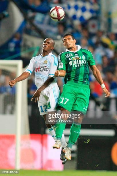 Charles KABORE / Idriss SAADI Marseille / Saint Etienne 3eme journee de Ligue 1