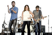 Charles Kelley Hillary Scott and Dave Haywood of Lady Antebellum perform during Country Summer Festival at Sonoma County Fairgrounds on June 3 2016...